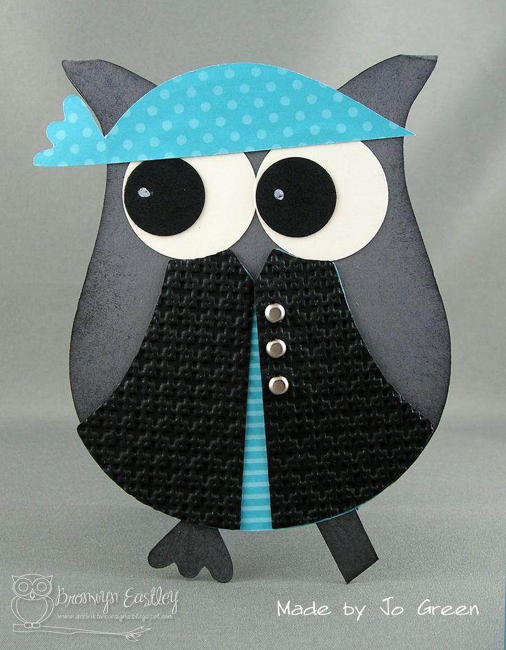 addINKtive designs: MDS e-Cut Pirate Owl Cards