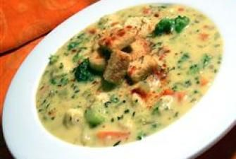 Creamy and Cheesy Vegetable Soup | Recipe Corner