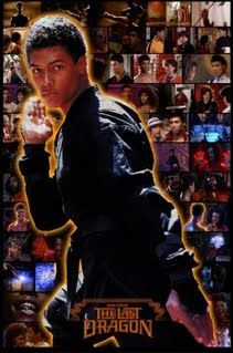 The Last Dragon Movie Collage featuring Bruce Leroy & The Glow