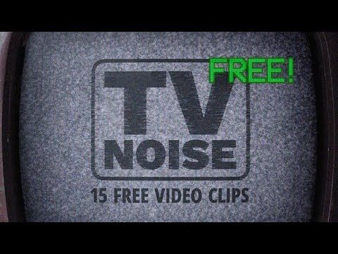 15 Free TV Static Noise Clips - 4K Ultra HD Footage
