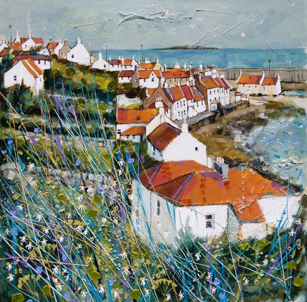 Sunny Day Pittenweem by Deborah Phillips