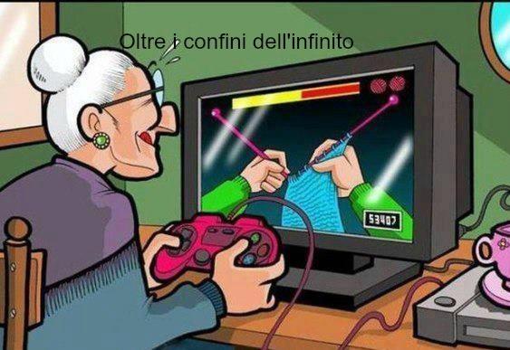 Tecnologica la nonna...