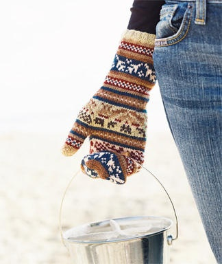 Fair Isle mittens: Knits Crochet, Fashion Style, Knits Mittens, Colors, Beautiful, Mittens N Socks, Clothing Outfits, Home Crafts Ideas, Gloves Mittens
