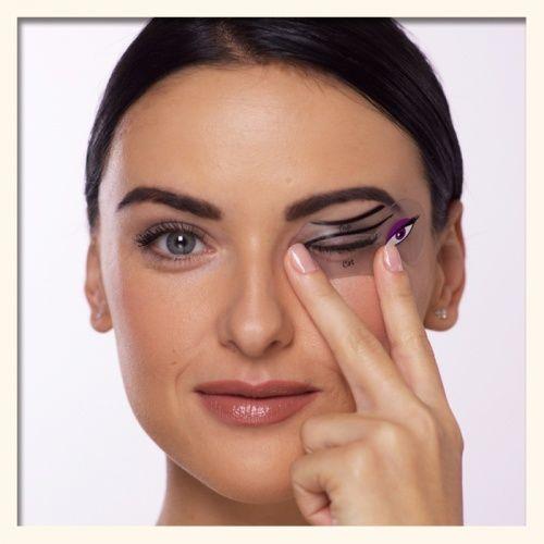 Cat Eye Makeup & Smokey Eye Makeup Stencils a la Carte