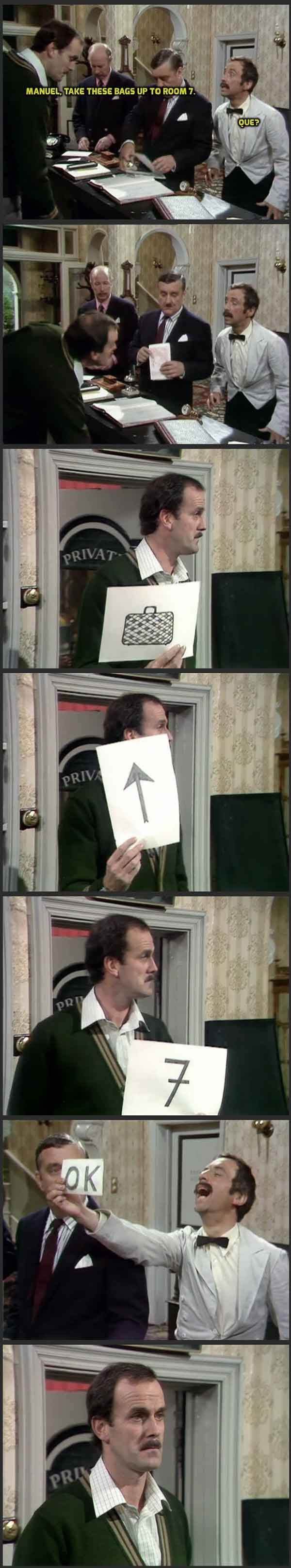 Fawlty Towers is one of my favorites of all time... // tags: funny pictures - funny photos - funny images - funny pics - funny quotes - #lol #humor #funnypictures