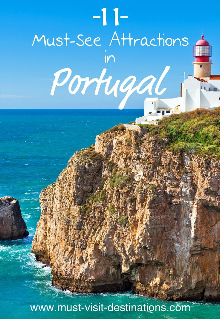 There's plenty to do and see in Portugal, however, some destinations and sights just cannot be missed. Here are some of the top-rated tourist attractions and best destinations in Portugal.