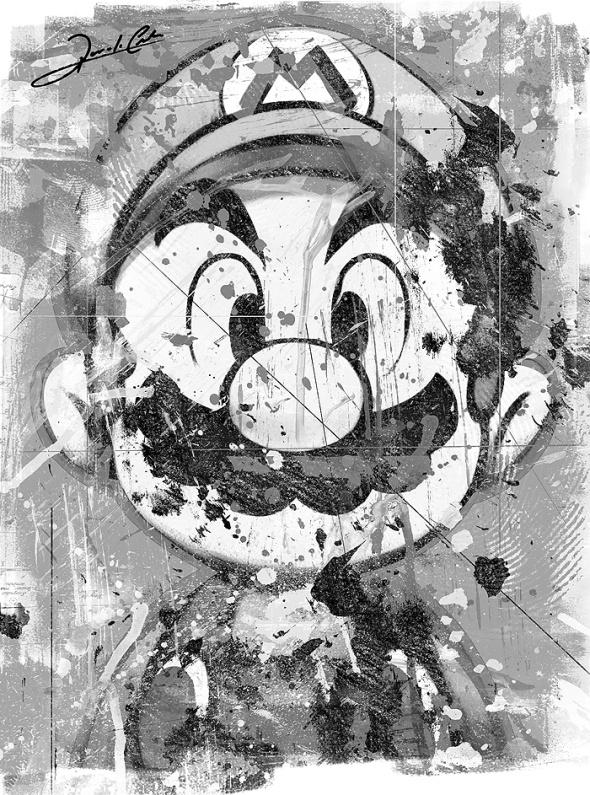 Mario Bros By Renato Cunha