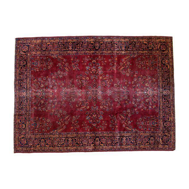 "X-Vintage Distressed Turkish Carpet - 8'8"" x 12' $1279"