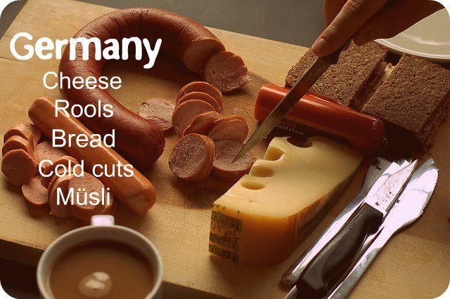 Guten morgen!  Worldwide breakfast. Germany. (© Flickr withassociates)