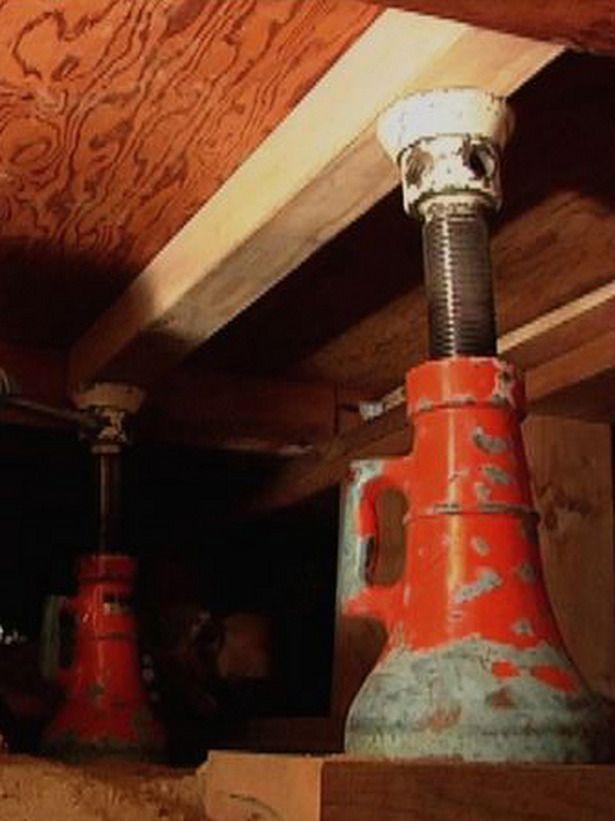 sagging subfloor repair   DIY Projects   Home repairs, Home