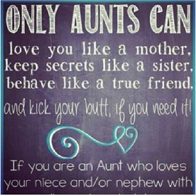 Niece And Nephew Quotes: I LOVE Being My Nieces' And Nephews' AUNT!!!
