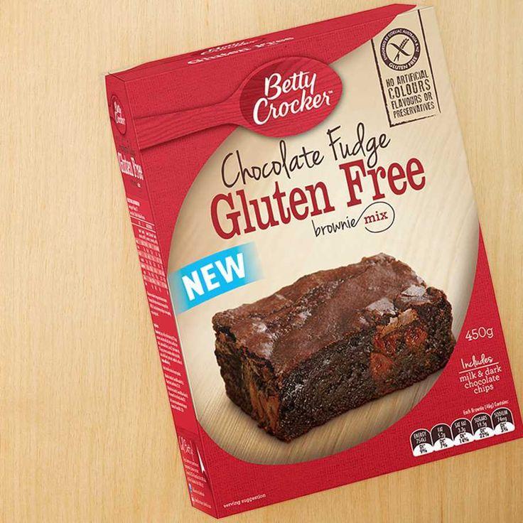 Betty Crocker Chocolate Fudge Gluten Free Brownie Mix
