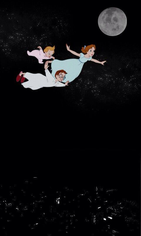 Peter Pan disney iphone wallpaper