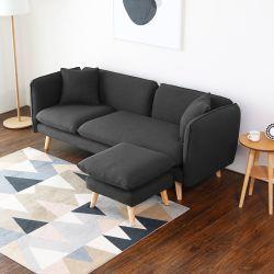 best 25 canape salon ideas on pinterest salon gris deco and deco salon. Black Bedroom Furniture Sets. Home Design Ideas