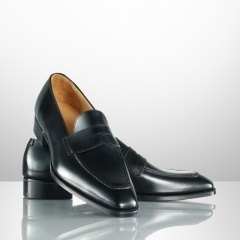 Keston Calf Penny Loafer by Ralph Lauren