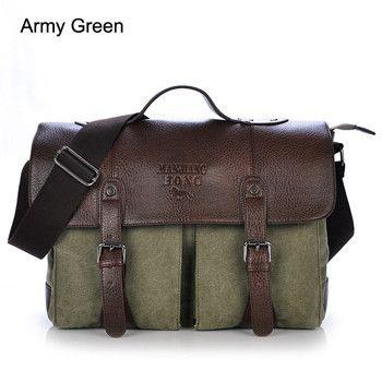 Bolsas Men's Travel Bags Vintage Crossbody Bags For Men office bag Fashion Casual Shoulder Handbags men messenger bags SD-238