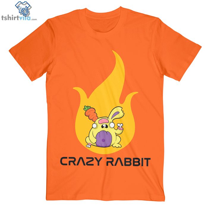 Like and Share if you want this  Crazy Rabbit T Shirt - Adult Unisex Size S-3XL     Tag a friend who would love this!     FREE Shipping Worldwide     Buy one here---> https://tshirtvila.com/product/crazy-rabbit-t-shirt-adult-unisex