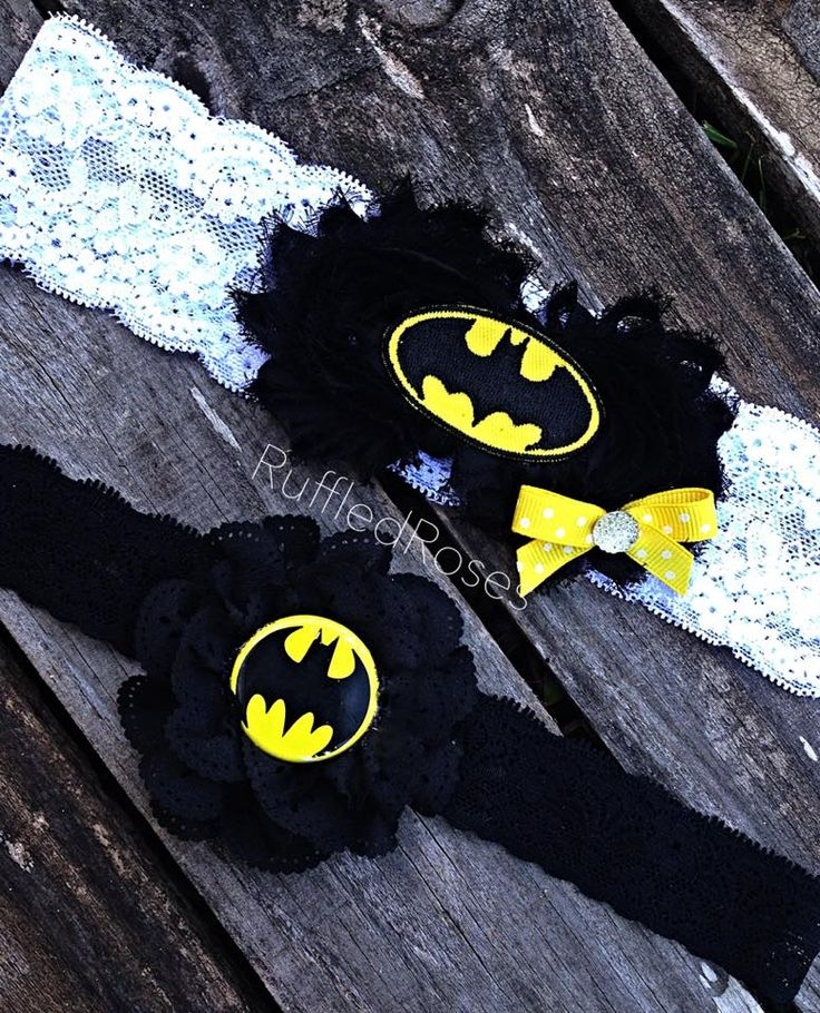 Custom Wedding Batman Garter Set