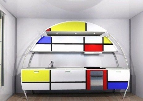 Kitchen furniture Mondrian Arts