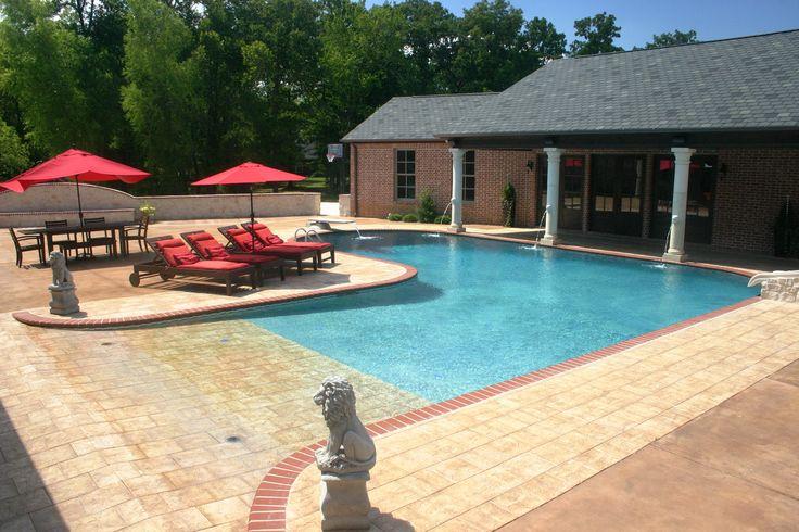 Schwimmbad selber bauen Pool selber bauen beton Pool selber