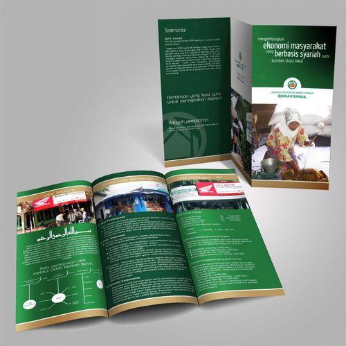 Desain brosur Barkah Banua 2 CSR PT. Kalimantan Prima Persada. www.simplestudioonline.com