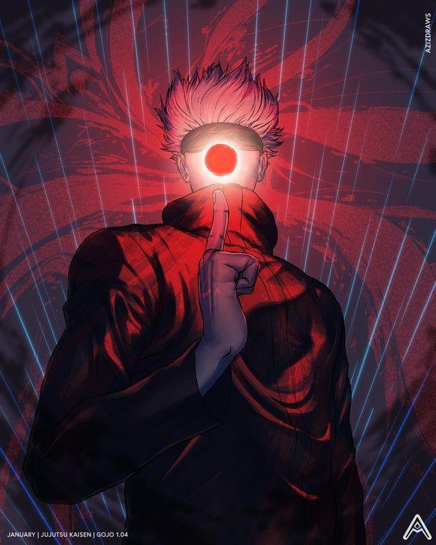 I Drew The Legend Gojo Yesterday Jujutsukaisen In 2021 Anime Anime Art Jujutsu