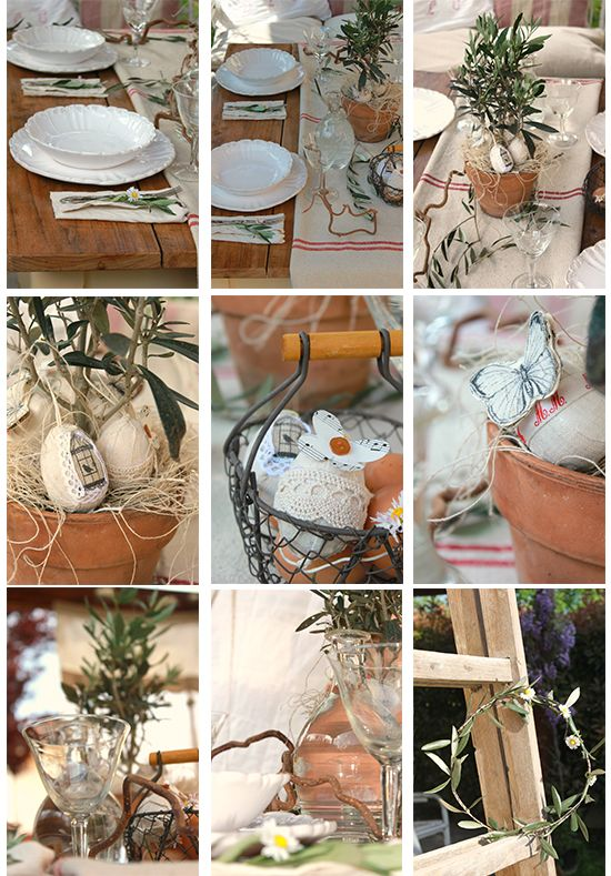 La tavola di Pasqua, dettagli     www.casadivita.despar.it #tablesetting