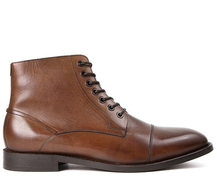 Men's Seymour Cognac Boot   Hudson shoes
