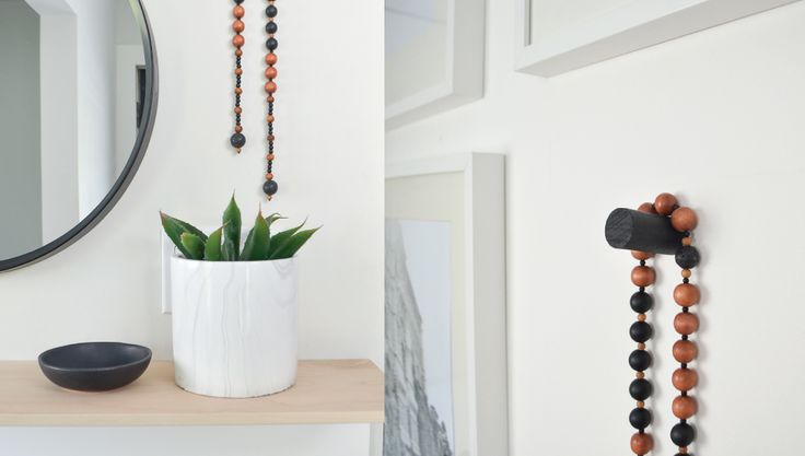Intention Beads for the home.   Encourages focus and a positive mind set. Love Nest Design | http://lovenestdesign.ca