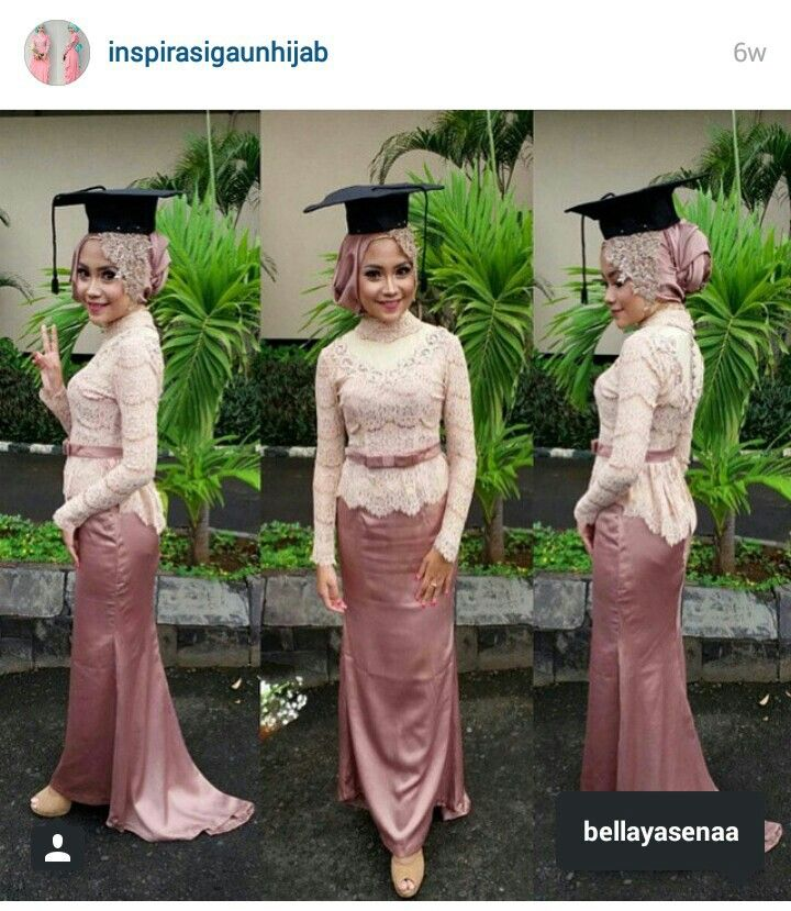 Kebaya hijab - graduation day