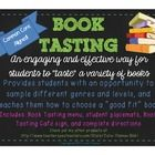 Host a Book Tasting event in your classroom! This restaurant-style method of choosing a good fit book will engage your students and get them excited to read. Through this activity, your students will learn how to determine appropriate books for their reading levels and interests.  ...and you are their server!! :) Includes:  *Double-sided, tri-fold Book Tasting Café menu  *Student placemats  *Book Tasting Café welcome sign  *Complete directions for your Book Tasting event  **Common Core…