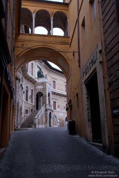 Fermo, Le Marche region, Italy