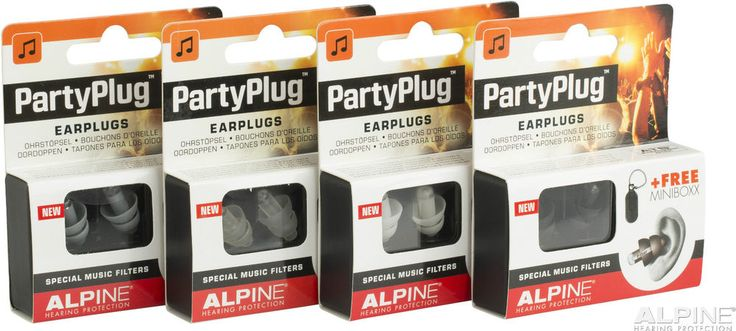 Partyplug Alpine Earplugs Music Festival Concerts Festivals Hearing Protection