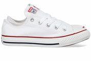Witte Converse kinderschoenen All Star Ox gympen