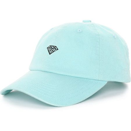 Diamond Supply Co. Brilliant Heather Grey Strapback Hat at Zumiez : PDP