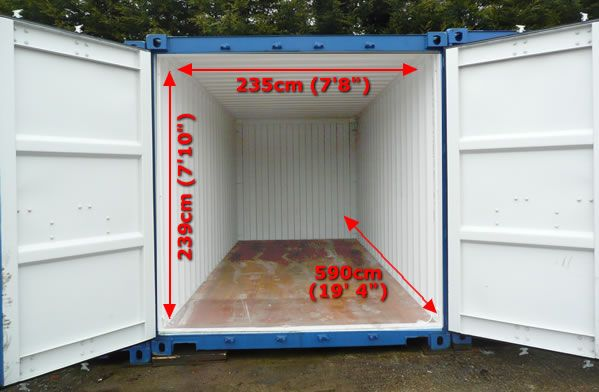 Bluebird Self Storage Secure Container Self Storage In North Walsham Self Storage Container House Container Size