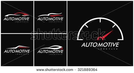 Automotive Logo Set,You can change Logo with your text