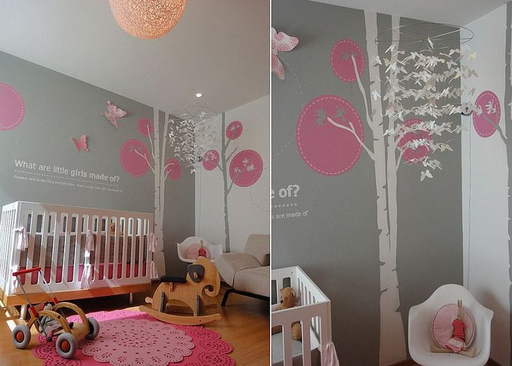 Best 25 Pink Gray Nurseries Ideas On Pinterest Baby