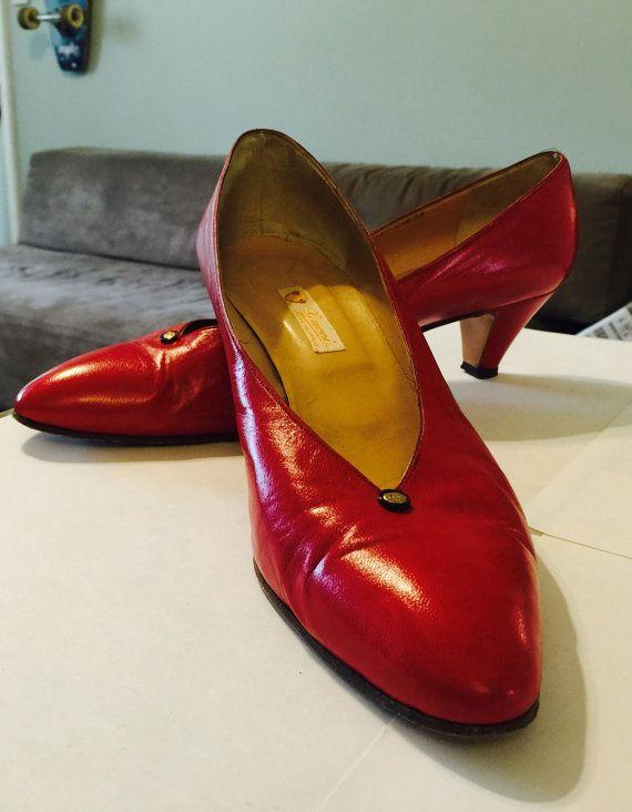 Magli Multi colored slip on shoes yellow mauve orange size 5.5 5 1/2 m