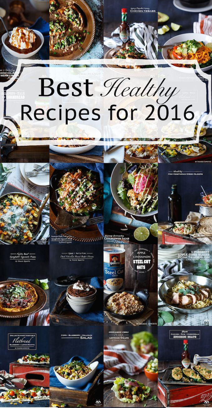 Healthy Recipes That Actually Taste Good.  Eating healthy isn't always easy, especially when the food tastes like cardboard.  Here's a list of Healthy Recipes That Actually Taste Good… the Best Healthy Recipes for 2016!