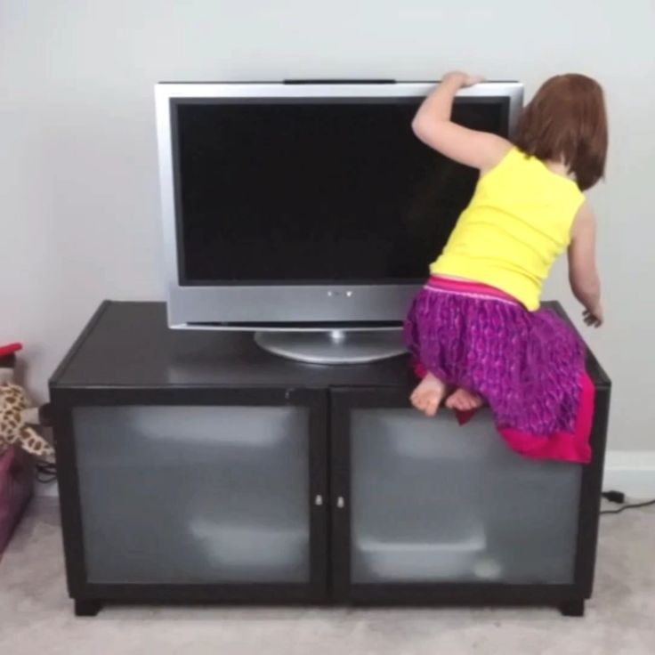 Baby Proof Your Tv And Furniture To Prevent Tip Over