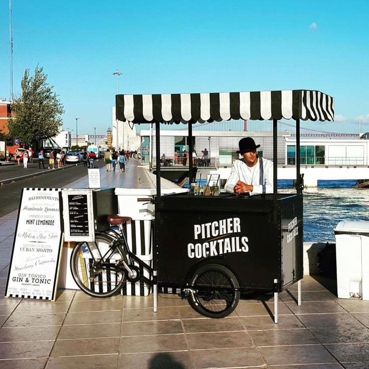 Ideas for mobile food carts and stalls on wheels ||| Visual Merchandising…