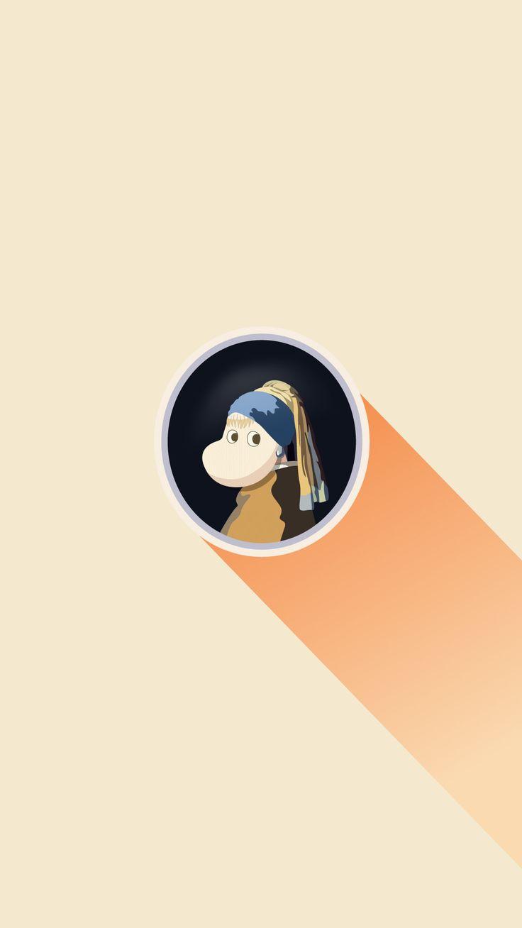 진주 귀걸이를 한 스노크메이든_Girl with a Pearl Earring