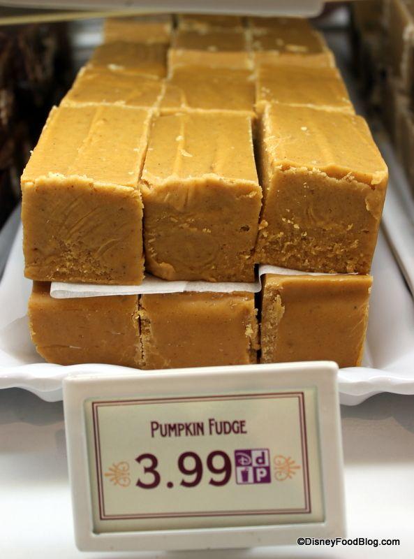 Recipe For Disney Land Pumpkin Fudge
