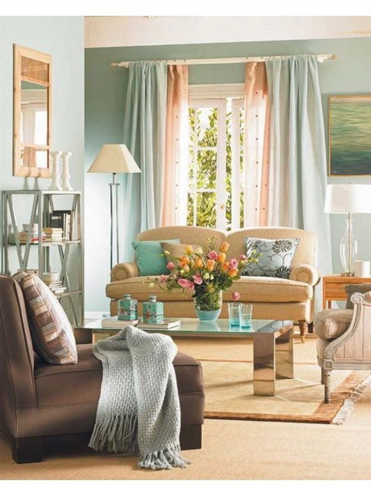 Tangerine Living Room Decor: Tangerine, Teal, Browns. Would Looks So Adorable In Living