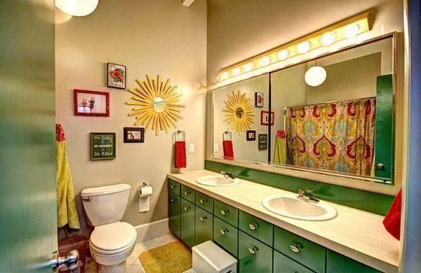 banheiro coloridos para crianças
