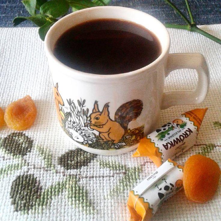 Dzień dobry .Poranna kawka i do pierogów!#witam #kawa #praca #goodmorning #morningcoffee #mug