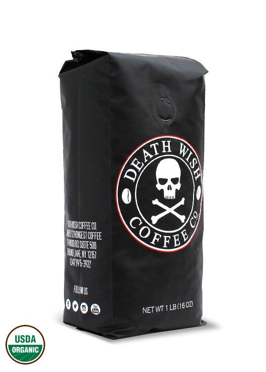 DEATH WISH COFFEE CO. | 1 POUND BAG World's Strongest Highly Caffeinated Coffee