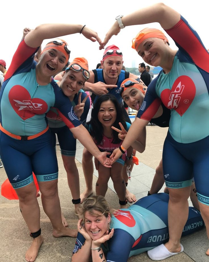 Rocket Science Sports' Wuxi Lame Ducks team at the UltraS