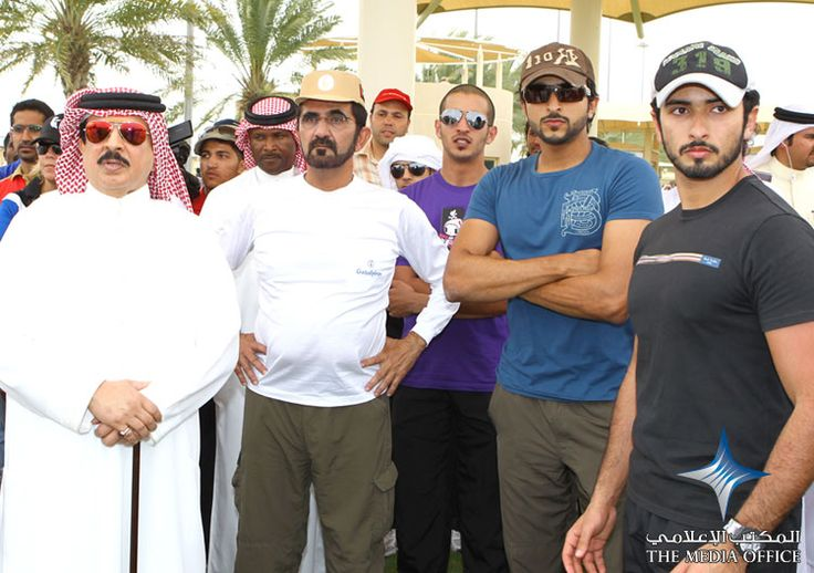 2010 UAE Vice President, Prime Minister and Ruler of Dubai His Highness Sheikh Mohammed bin Rashid Al Maktoum participated in the third and final round of the Dubai Giants Endurance Championship, held at Dubai International Endurance City today.